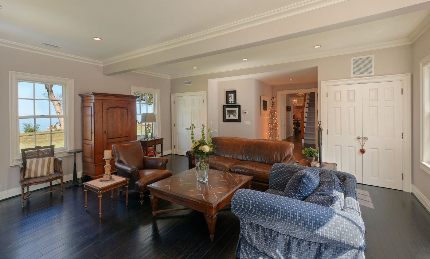 West Wing Living Room   Country Homes For Sale And Luxury Real Estate  Including Horse Farms Photo