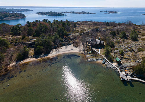 Jones Island Georgian Bay Cottages For Sale Waterfront