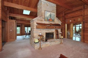 Fireplace - Country homes for sale and luxury real estate including horse farms and property in the Caledon and King City areas near Toronto