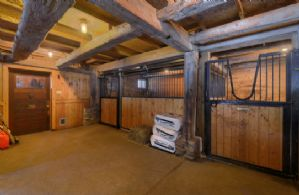 Interior of Barn - Country homes for sale and luxury real estate including horse farms and property in the Caledon and King City areas near Toronto