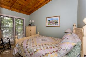 Guest Cottage Bedroom - Country homes for sale and luxury real estate including horse farms and property in the Caledon and King City areas near Toronto