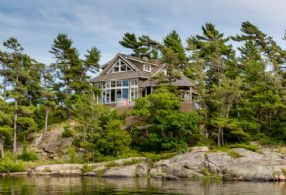 Lumsden Island, The Archipelago Georgian Bay - Country homes for sale and luxury real estate including horse farms and property in the Caledon and King City areas near Toronto