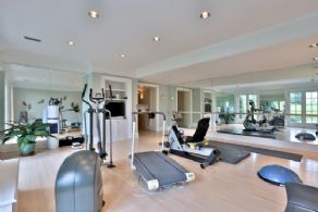 Gym - Country homes for sale and luxury real estate including horse farms and property in the Caledon and King City areas near Toronto