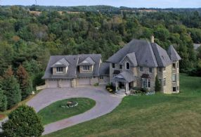 Overlooking Kettleby Village - Country Homes for sale and Luxury Real Estate in Caledon and King City including Horse Farms and Property for sale near Toronto