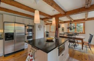 Renovated Kitchen - Country homes for sale and luxury real estate including horse farms and property in the Caledon and King City areas near Toronto