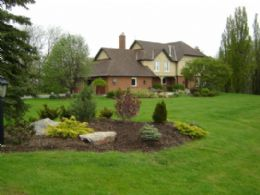 Front Elevation - Country homes for sale and luxury real estate including horse farms and property in the Caledon and King City areas near Toronto