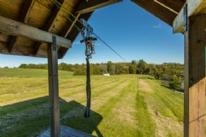 Zip Line - Country homes for sale and luxury real estate including horse farms and property in the Caledon and King City areas near Toronto