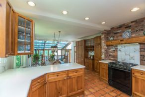 Kitchen opens into Breakfast Room - Country homes for sale and luxury real estate including horse farms and property in the Caledon and King City areas near Toronto