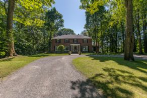 Executive Home on 14 Acres - Country homes for sale and luxury real estate including horse farms and property in the Caledon and King City areas near Toronto