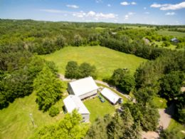 Original Farm Courtyard - Country homes for sale and luxury real estate including horse farms and property in the Caledon and King City areas near Toronto