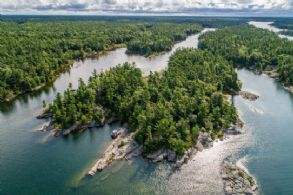 Private Island on Georgian Bay, Georgian Bay, Ontario - Country homes for sale and luxury real estate including horse farms and property in the Caledon and King City areas near Toronto