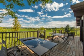 Deck - Country homes for sale and luxury real estate including horse farms and property in the Caledon and King City areas near Toronto