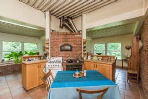 Kitchen with Bake Oven - Country homes for sale and luxury real estate including horse farms and property in the Caledon and King City areas near Toronto