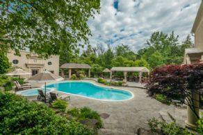 Pool and Cabana - Country homes for sale and luxury real estate including horse farms and property in the Caledon and King City areas near Toronto