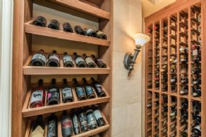 Wine Cellar - Country homes for sale and luxury real estate including horse farms and property in the Caledon and King City areas near Toronto