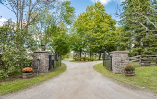Front Gates - Country homes for sale and luxury real estate including horse farms and property in the Caledon and King City areas near Toronto