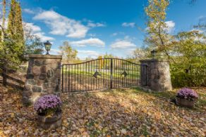 Matching Stone Gates - Country homes for sale and luxury real estate including horse farms and property in the Caledon and King City areas near Toronto