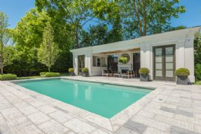 Pool House - Country homes for sale and luxury real estate including horse farms and property in the Caledon and King City areas near Toronto