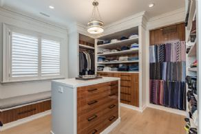 Walk-in Closet #2 - Country homes for sale and luxury real estate including horse farms and property in the Caledon and King City areas near Toronto