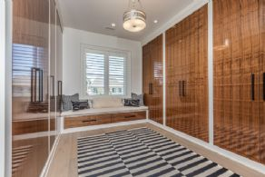 Walk-in Closet #1 - Country homes for sale and luxury real estate including horse farms and property in the Caledon and King City areas near Toronto