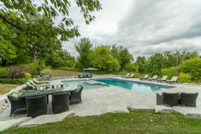 The Ewing House, Hockley Valley, Mono, Ontario - Country homes for sale and luxury real estate including horse farms and property in the Caledon and King City areas near Toronto