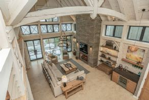 Spectacular Post and Beam on Lake Simcoe, Innisfil - Country Homes for sale and Luxury Real Estate in Caledon and King City including Horse Farms and Property for sale near Toronto