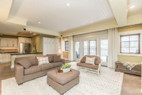 Family Room and 2nd Kitchen - Country homes for sale and luxury real estate including horse farms and property in the Caledon and King City areas near Toronto