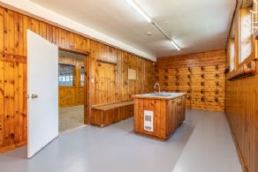Tack Room and Cleaning Station - Country homes for sale and luxury real estate including horse farms and property in the Caledon and King City areas near Toronto