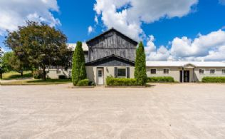 Barn Facade - Country homes for sale and luxury real estate including horse farms and property in the Caledon and King City areas near Toronto