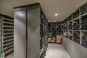 Subterranean Wine Cellar - Country homes for sale and luxury real estate including horse farms and property in the Caledon and King City areas near Toronto