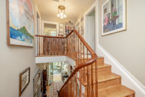 Maple Staircase - Country homes for sale and luxury real estate including horse farms and property in the Caledon and King City areas near Toronto