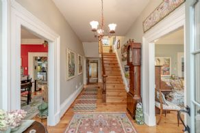 Front Hallway - Country homes for sale and luxury real estate including horse farms and property in the Caledon and King City areas near Toronto