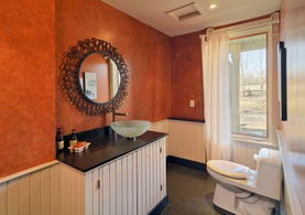 Main Level Powder Room - Country homes for sale and luxury real estate including horse farms and property in the Caledon and King City areas near Toronto