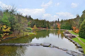 Fish Pond - Country homes for sale and luxury real estate including horse farms and property in the Caledon and King City areas near Toronto