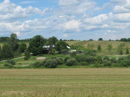 View Across Farm - Country homes for sale and luxury real estate including horse farms and property in the Caledon and King City areas near Toronto