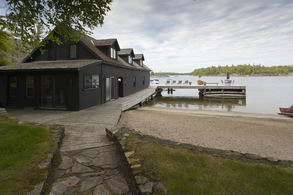 Main Boat House with Second Storey - Country homes for sale and luxury real estate including horse farms and property in the Caledon and King City areas near Toronto