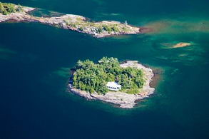 Knightsleigh Island, Georgian Bay - Country homes for sale and luxury real estate including horse farms and property in the Caledon and King City areas near Toronto