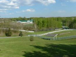 Over 3 miles of special paddock fencing - Country homes for sale and luxury real estate including horse farms and property in the Caledon and King City areas near Toronto